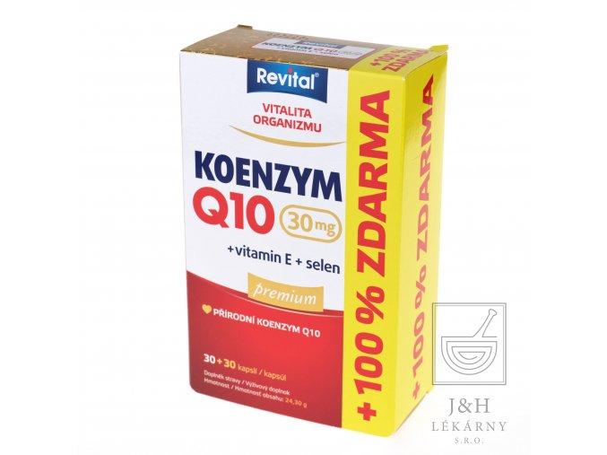 Revital Koenzym Q10 30mg+Se+vit.E cps.30+30 zdarma